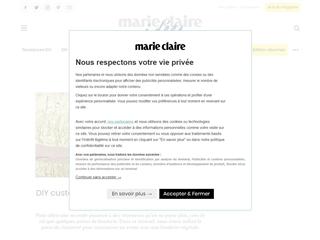 Marie-Claire Idées : DIY Mode