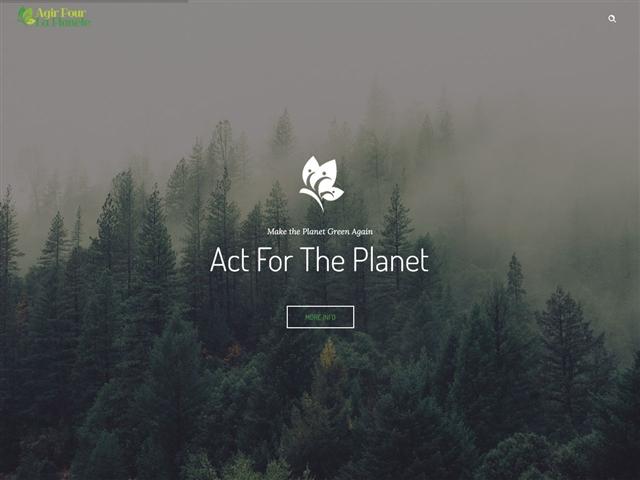 Agir pour la planète