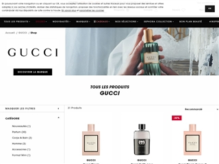 Sephora : Gucci