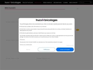 Trucs & Bricolages : Bricolages