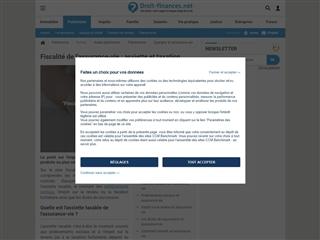 Droit-Finances.net : Assurance Vie