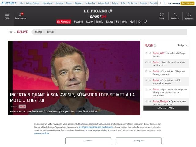Sport24 : Rallye