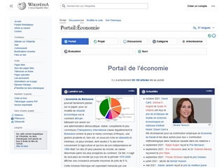 Wikipedia : Portail Économie