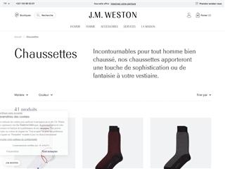 J.M. Weston : Maroquinerie