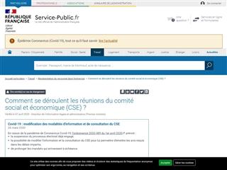 Service Public : rôle du CHSCT