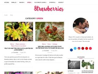 Strawberries : Green