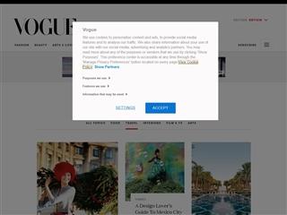 Vogue (UK) : Travel