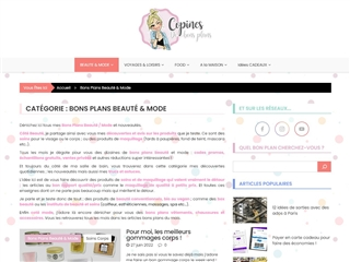 Copines de Bons Plans : Beauté / Mode