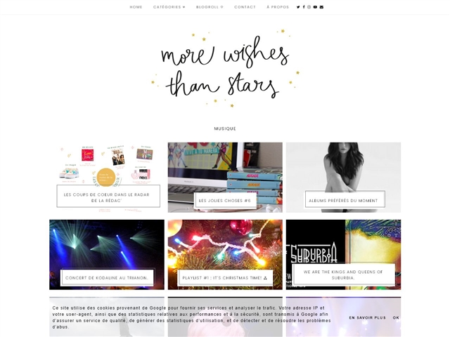 More Wishes than Stars : Musique