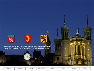 Présence du Souvenir Bourbonien en Lyonnais – Forez – Beaujolais