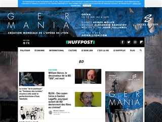Huffington Post : Bande dessinée