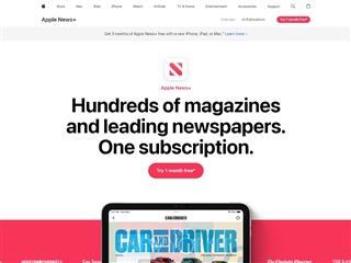 Apple : News +