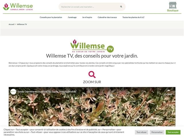 Willemse : Vidéos