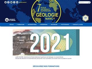 École nationale supérieure de géologie (ENSG)