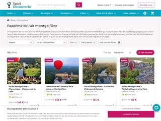 Sport Découverte : vol en montgolfière