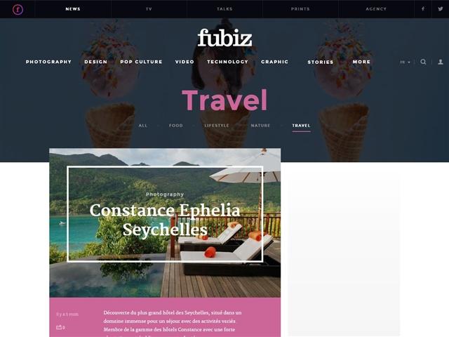 Fubiz : Travel