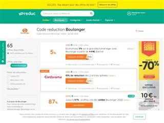 Ma-reduc.com : Boulanger