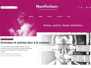 Non Fiction : Littérature