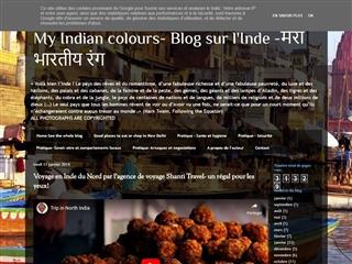 My Indian colours -Blog sur l'Inde par un étudiant français
