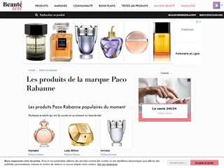 Beauté-Test : Paco Rabanne