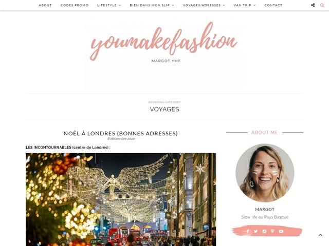 You Make Fashion : Voyages