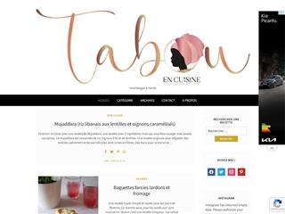 Tabou en Cuisine