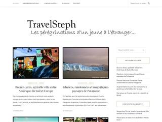 TravelSteph.com, les pérégrinations d'un jeune à l'étranger