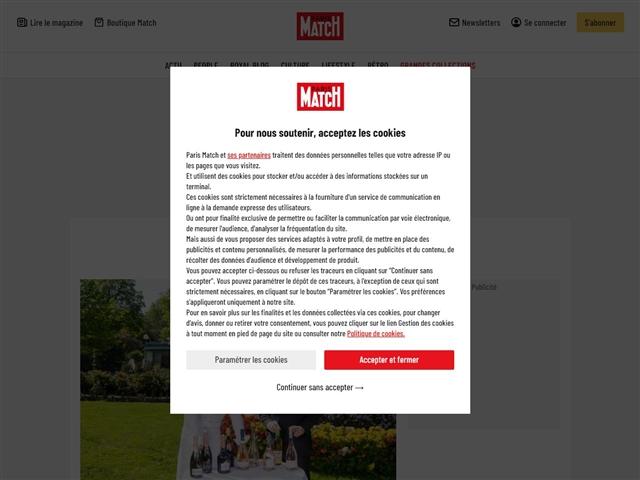 Paris Match : Gastronomie