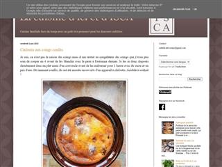 La cuisine d'ici et d'ISCA