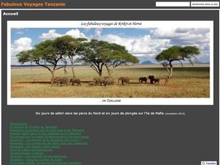 Fabuleux voyages en Tanzanie