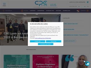 École supérieure chimie physique électronique de Lyon (CPE Lyon)