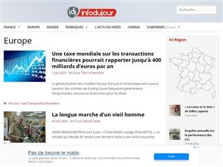IDJ - Info du Jour : Europe