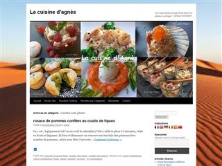 La cuisine d'Agnès : Sans gluten