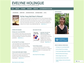 Chronicles, Stories and Books from a French-American Writer