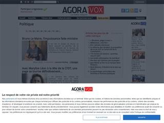 Agoravox : Politique