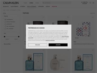 Calvin Klein : Parfums