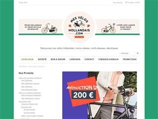 Mes vélos Hollandais
