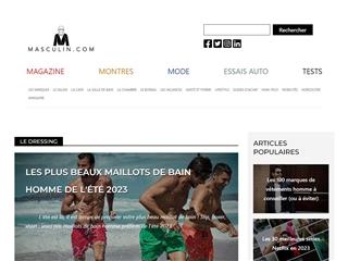 Masculin.com : Style