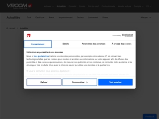 Vroom.be : actualité auto