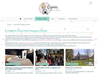 Copines de Bons Plans : Sorties / Voyages