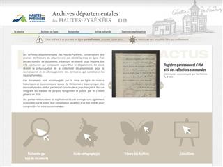 Hautes-Pyrénées (65) - Archives départementales
