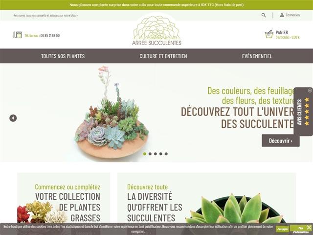Arrée Succulentes