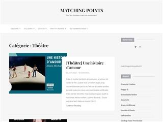 Matching Points : Théâtre
