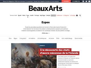 BeauxArts : Expositions