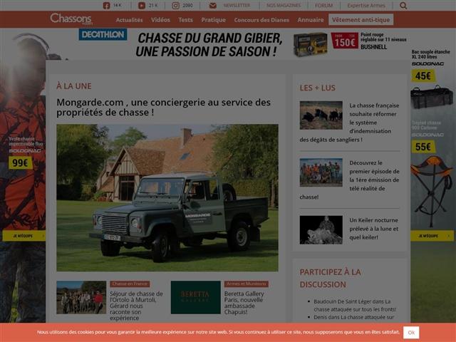 Chassons.com : Petites annonces