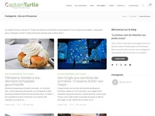Captain Turtle : City-guide Aix-en-Provence