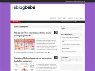 Le Blog Bébé : Bébés Différents