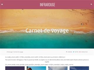Infrarouge : Carnet de Voyage