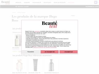 Beauté-Test : Hugo Boss