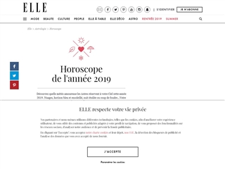 Elle : Horoscope